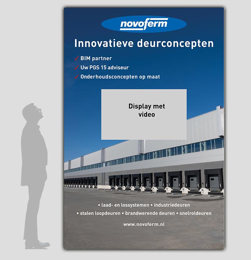 Beurswand (bestikkering) 3m x 2m, Novoferm Nederland BV - Industriele deuren
